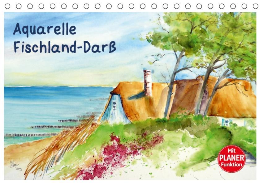 Aquarelle - Fischland-Darß (Tischkalender 2017 DIN A5 quer) - Coverbild