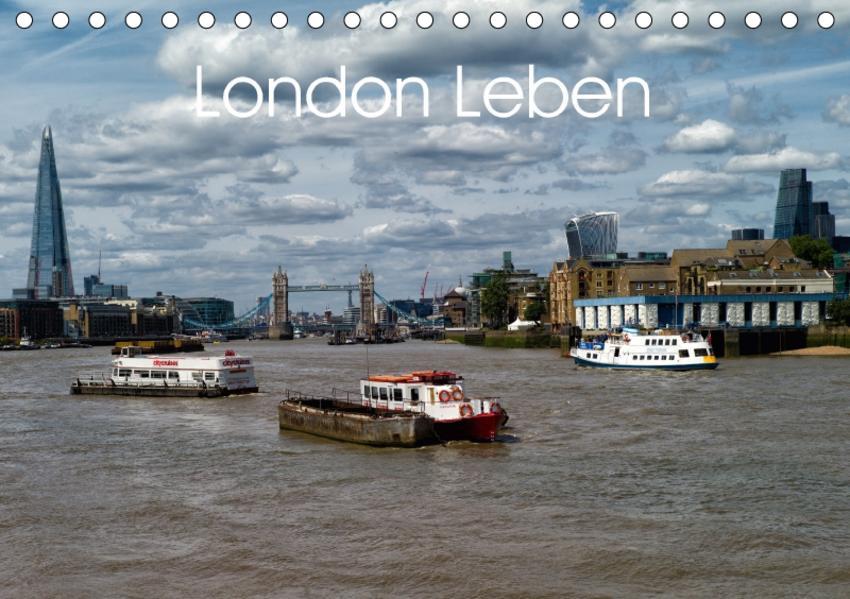 London Leben (Tischkalender 2017 DIN A5 quer) - Coverbild