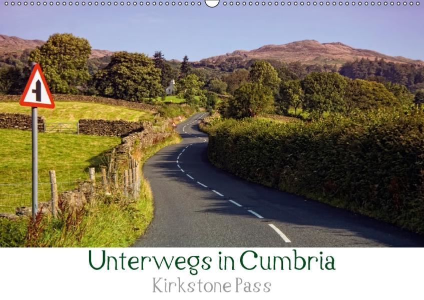 Unterwegs in Cumbria - Krikstone Pass (Wandkalender 2017 DIN A2 quer) - Coverbild