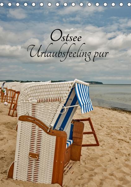 Ostsee Urlaubsfeeling pur (Tischkalender 2017 DIN A5 hoch) - Coverbild