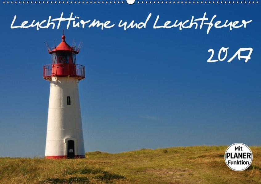 Leuchttürme und Leuchtfeuer (Wandkalender 2017 DIN A2 quer) - Coverbild