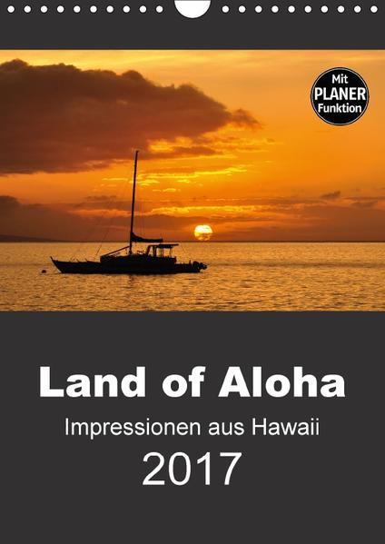 Hawaii - Land of Aloha (Wandkalender 2017 DIN A4 hoch) - Coverbild