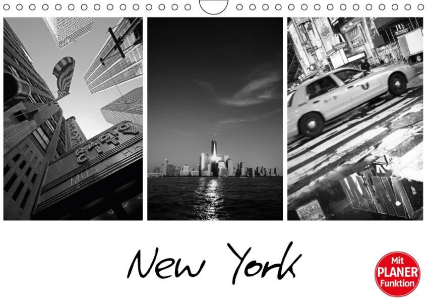 New York (Wandkalender 2017 DIN A4 quer) - Coverbild