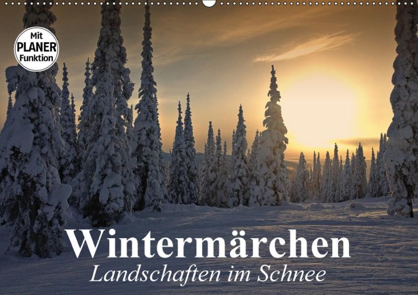 Wintermärchen. Landschaften im Schnee (Wandkalender 2017 DIN A2 quer) - Coverbild