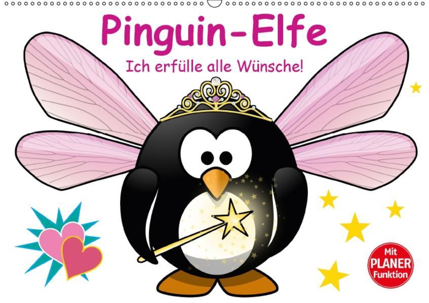 Pinguin-Elfe (Wandkalender 2017 DIN A2 quer) - Coverbild