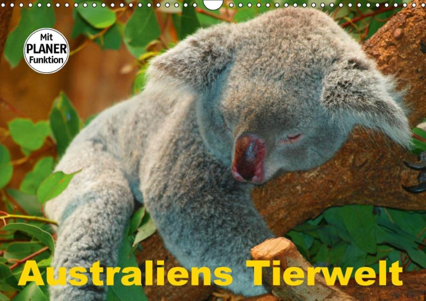 Australiens Tierwelt (Wandkalender 2017 DIN A3 quer) - Coverbild