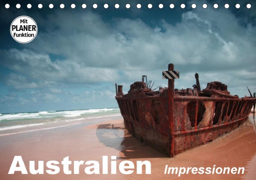 Australien. Impressionen (Tischkalender 2017 DIN A5 quer) - Coverbild