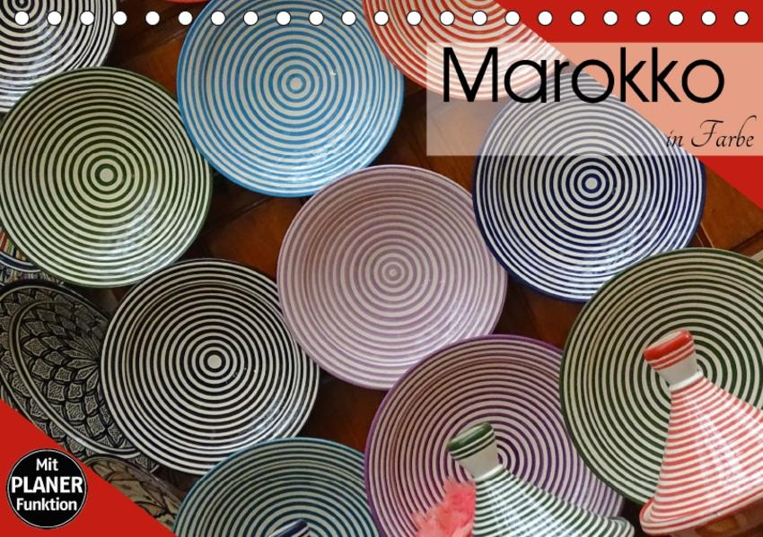 Marokko in Farbe (Tischkalender 2017 DIN A5 quer) - Coverbild