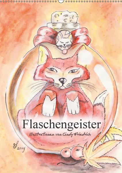 Flaschengeister (Wandkalender 2017 DIN A2 hoch) - Coverbild