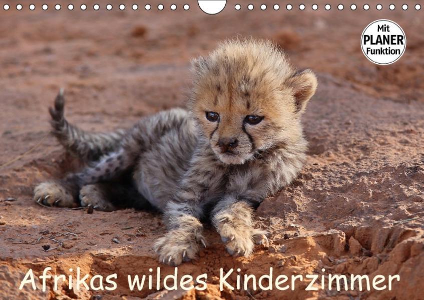 Afrikas wildes Kinderzimmer (Wandkalender 2017 DIN A4 quer) - Coverbild