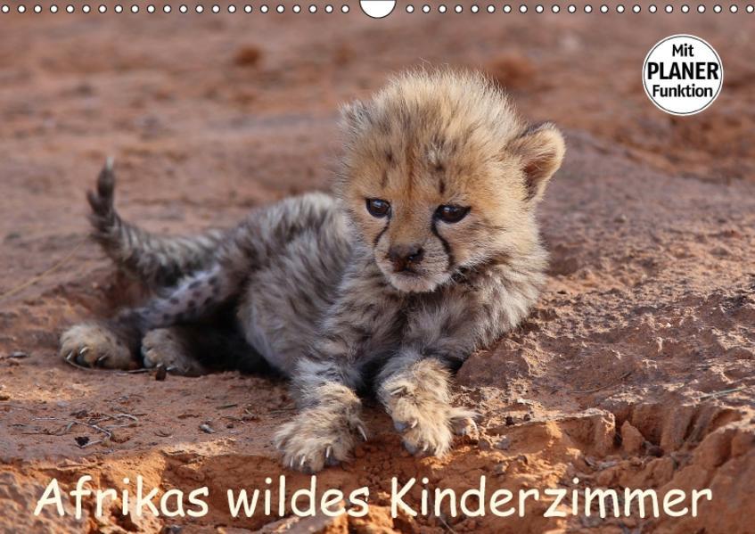Afrikas wildes Kinderzimmer (Wandkalender 2017 DIN A3 quer) - Coverbild