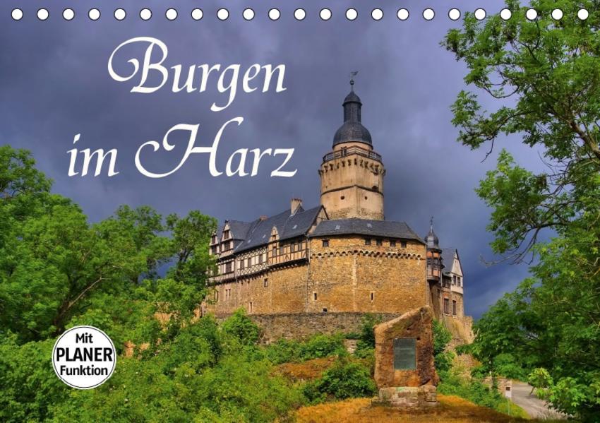 Burgen im Harz (Tischkalender 2017 DIN A5 quer) - Coverbild