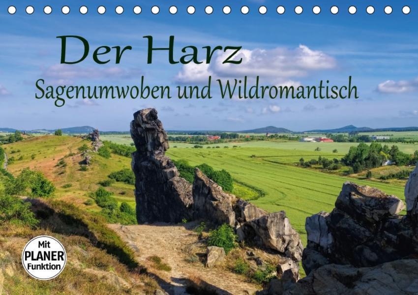 Der Harz - Sagenumwoben und Wildromantisch (Tischkalender 2017 DIN A5 quer) - Coverbild