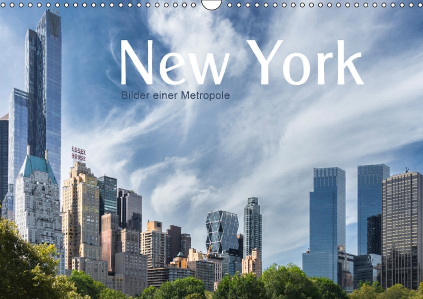 New York - Bilder einer Metropole (Wandkalender 2017 DIN A3 quer) - Coverbild