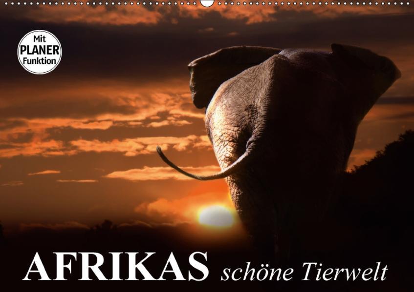 Afrikas schöne Tierwelt (Wandkalender 2017 DIN A2 quer) - Coverbild