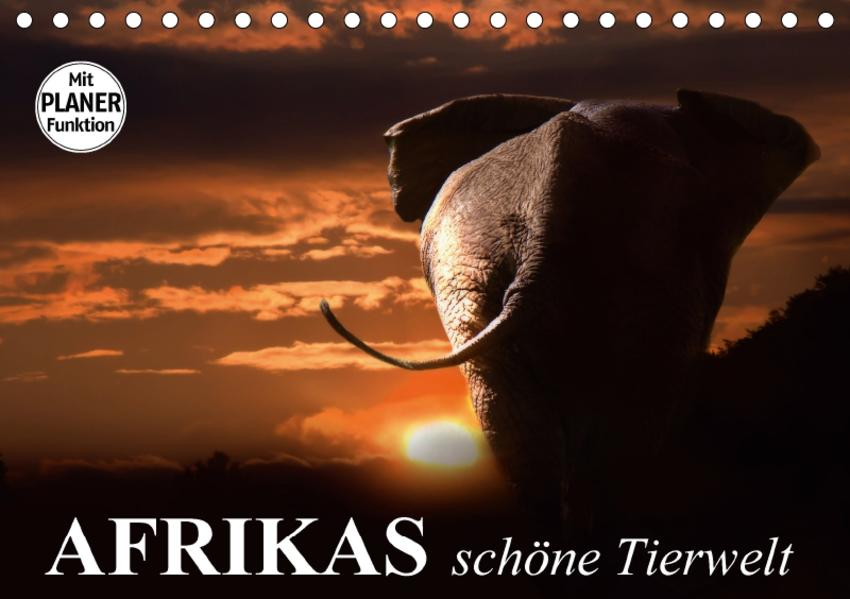 Afrikas schöne Tierwelt (Tischkalender 2017 DIN A5 quer) - Coverbild