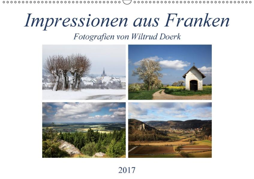 Impressionen aus Franken (Wandkalender 2017 DIN A2 quer) - Coverbild