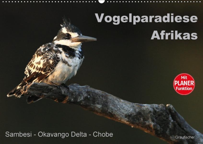 Vogelparadiese Afrikas - Sambesi, Okavango Delta, Chobe (Wandkalender 2017 DIN A2 quer) - Coverbild