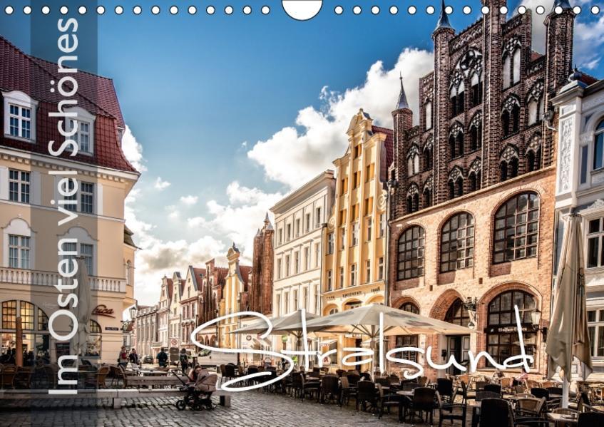 Im Osten viel Schönes - Stralsund (Wandkalender 2017 DIN A4 quer) - Coverbild