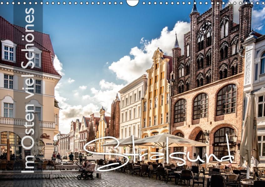 Im Osten viel Schönes - Stralsund (Wandkalender 2017 DIN A3 quer) - Coverbild
