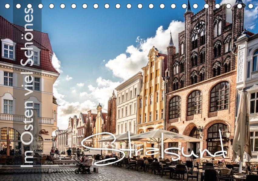 Im Osten viel Schönes - Stralsund (Tischkalender 2017 DIN A5 quer) - Coverbild