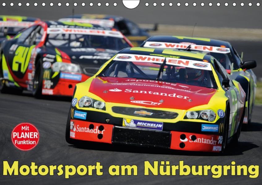 Motorsport am Nürburgring (Wandkalender 2017 DIN A4 quer) - Coverbild