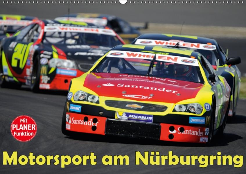 Motorsport am Nürburgring (Wandkalender 2017 DIN A2 quer) - Coverbild