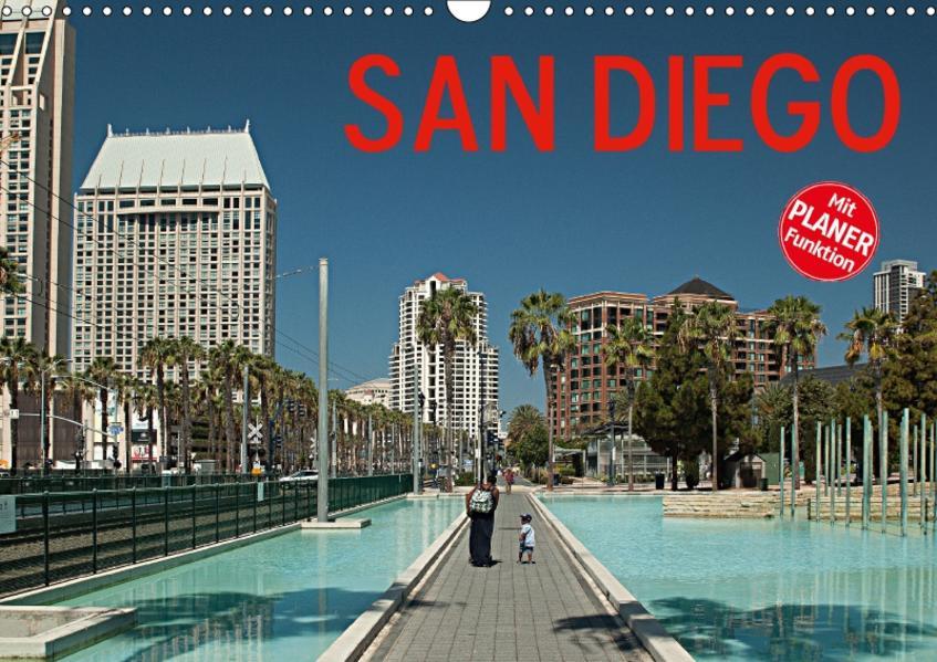 San Diego (Wandkalender 2017 DIN A3 quer) - Coverbild