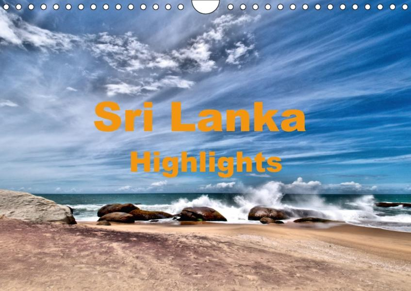 Sri Lanka - Highlights (Wandkalender 2017 DIN A4 quer) - Coverbild