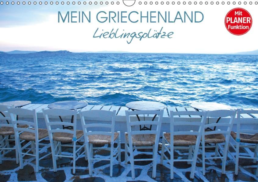 Mein Griechenland - Lieblingsplätze (Wandkalender 2017 DIN A3 quer) - Coverbild