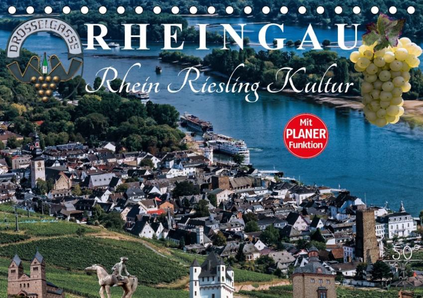 Rheingau - Rhein Riesling Kultur (Tischkalender 2017 DIN A5 quer) - Coverbild