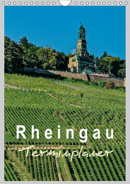 Rheingau Terminplaner (Wandkalender 2017 DIN A4 hoch) - Coverbild