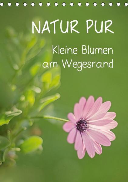 NATUR PUR Kleine Blumen am Wegesrand (Tischkalender 2017 DIN A5 hoch) - Coverbild