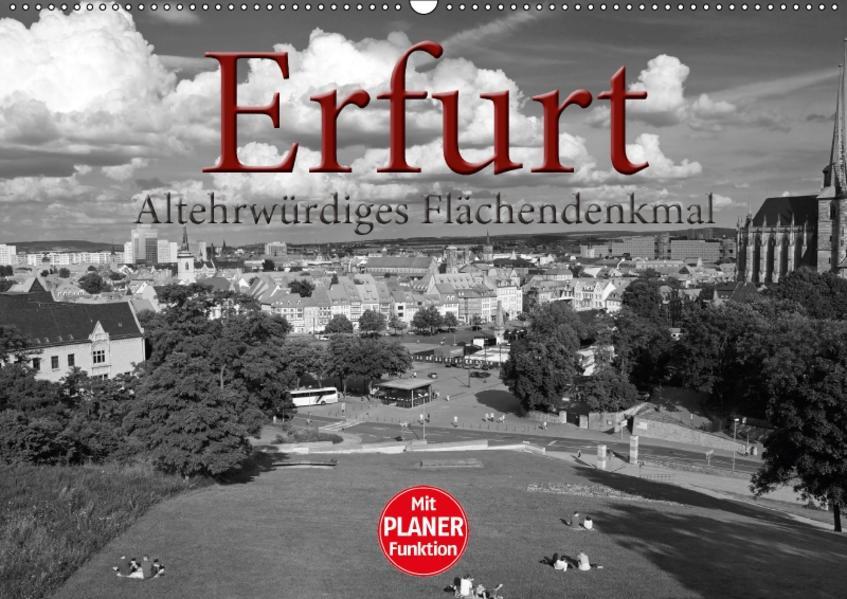 Erfurt - altehrwürdiges Flächendenkmal (Wandkalender 2017 DIN A2 quer) - Coverbild