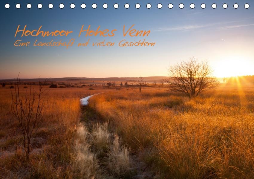 Hochmoor Hohes Venn (Tischkalender 2017 DIN A5 quer) - Coverbild