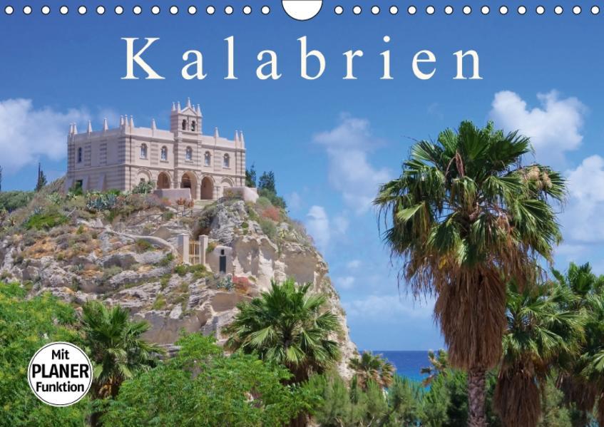 Kalabrien (Wandkalender 2017 DIN A4 quer) - Coverbild