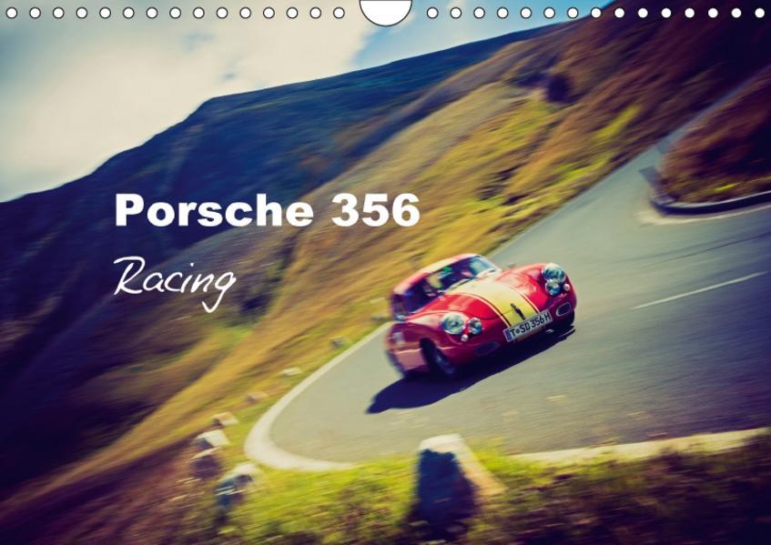 Porsche 356 - Racing (Wandkalender 2017 DIN A4 quer) - Coverbild