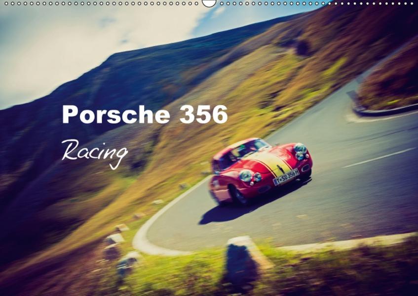 Porsche 356 - Racing (Wandkalender 2017 DIN A2 quer) - Coverbild
