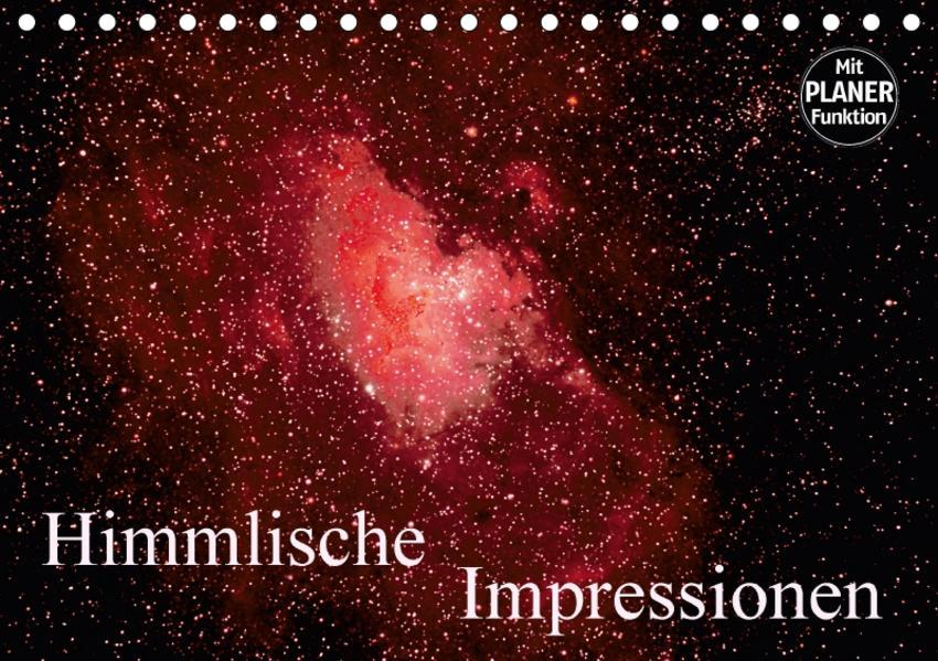 Himmlische Impressionen (Tischkalender 2017 DIN A5 quer) - Coverbild