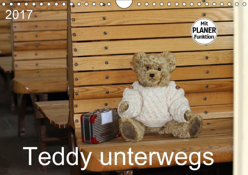 Teddy unterwegs (Wandkalender 2017 DIN A4 quer) - Coverbild