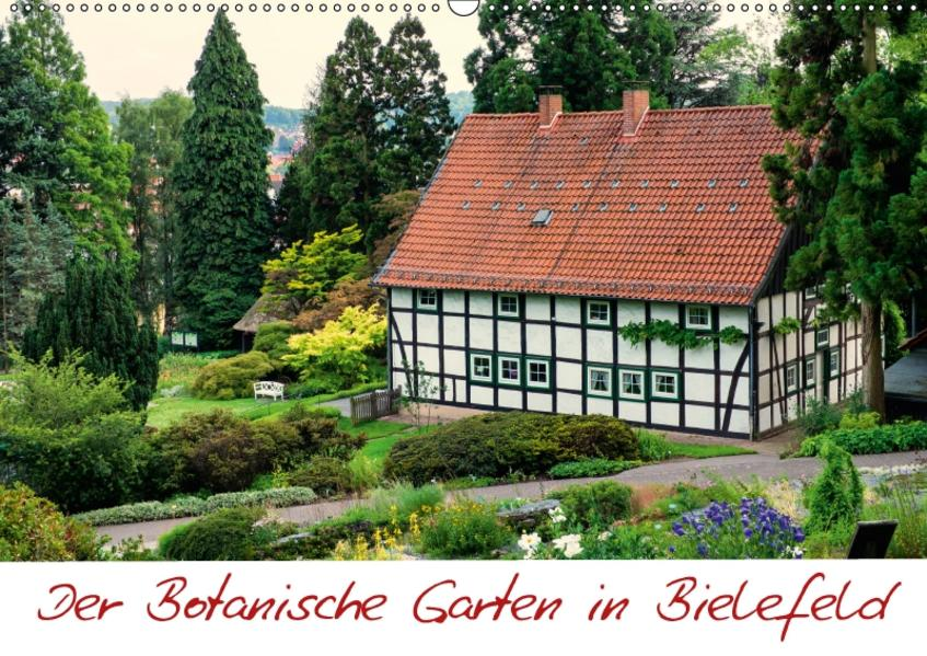 Der Botanische Garten in Bielefeld (Wandkalender 2017 DIN A2 quer) - Coverbild