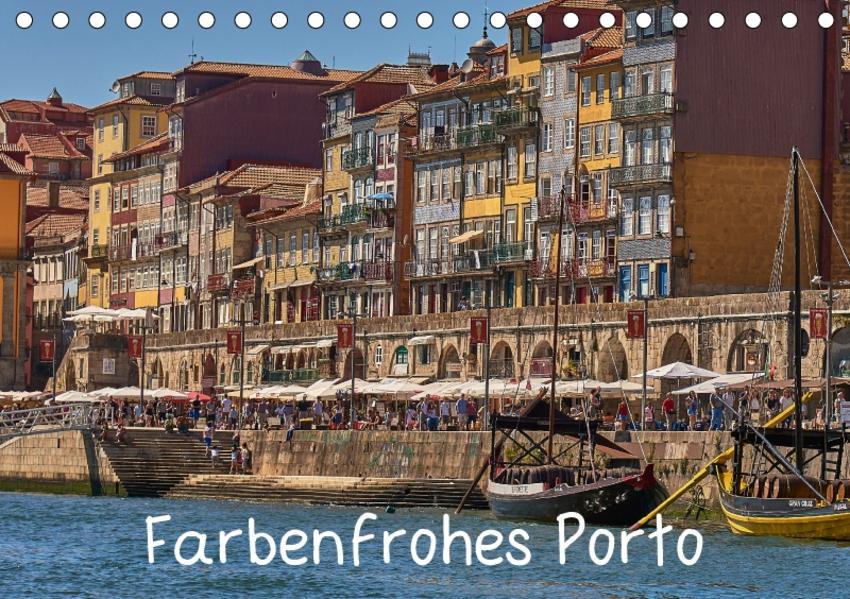 Farbenfrohes Porto (Tischkalender 2017 DIN A5 quer) - Coverbild