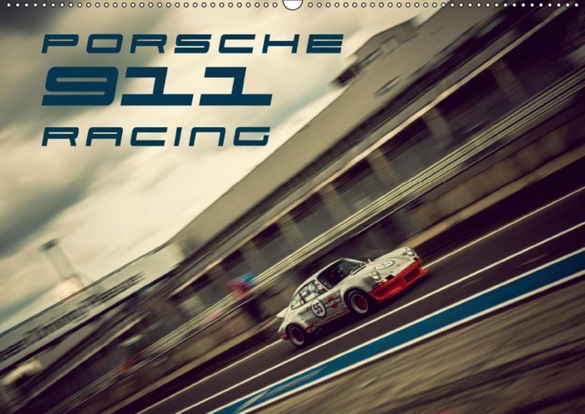 Porsche 911 Racing (Wandkalender 2017 DIN A2 quer) - Coverbild