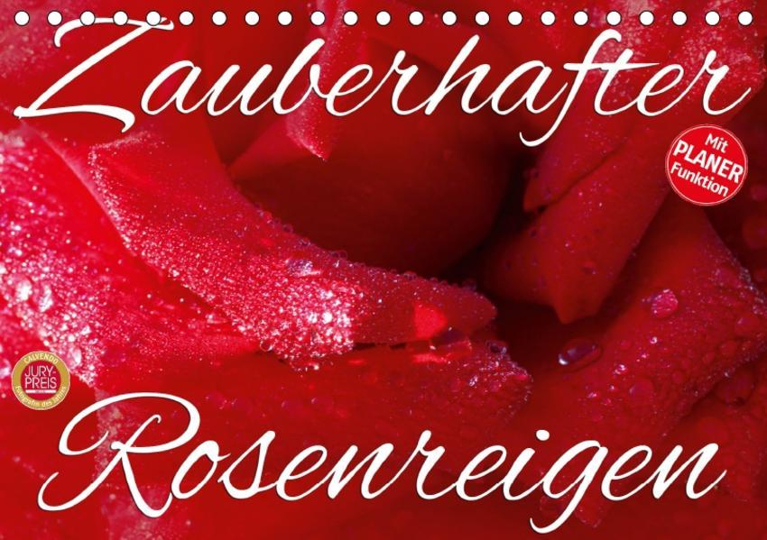 Zauberhafter Rosenreigen (Tischkalender 2017 DIN A5 quer) - Coverbild