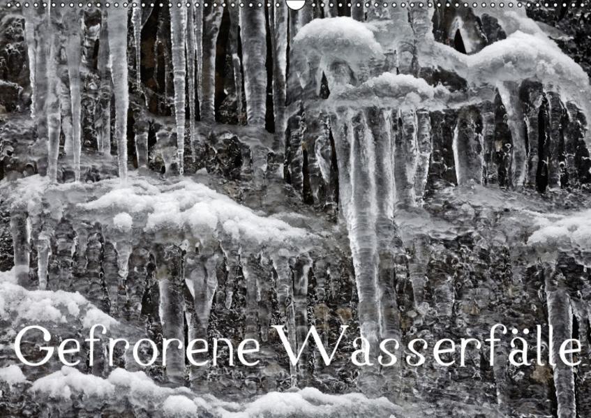 Gefrorene Wasserfälle (Wandkalender 2017 DIN A2 quer) - Coverbild