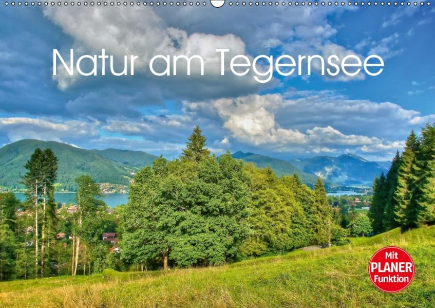 Natur am Tegernsee (Wandkalender 2017 DIN A2 quer) - Coverbild