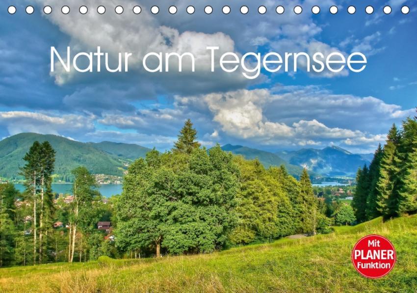 Natur am Tegernsee (Tischkalender 2017 DIN A5 quer) - Coverbild