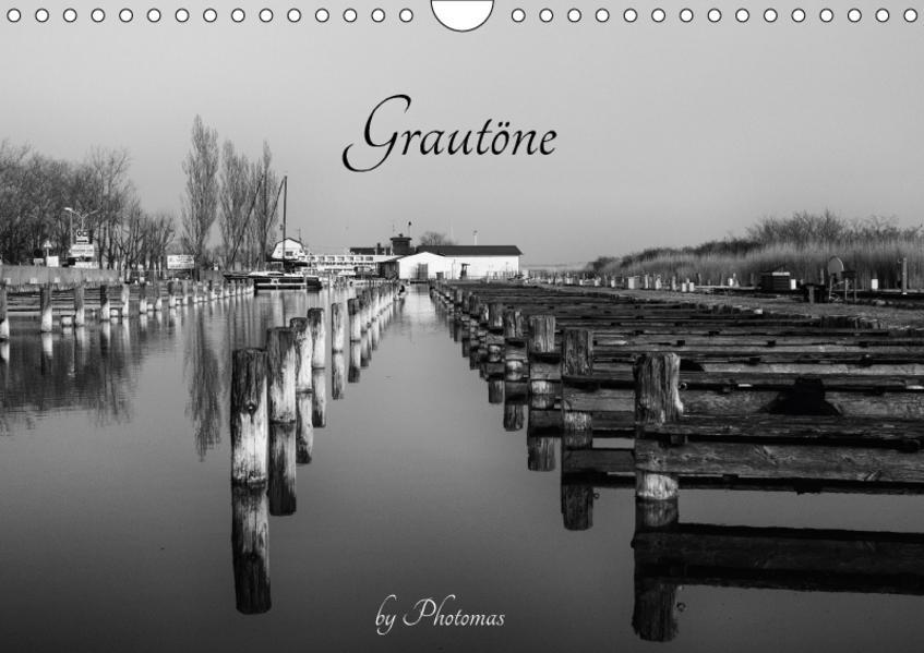 GrautöneAT-Version  (Wandkalender 2017 DIN A4 quer) - Coverbild