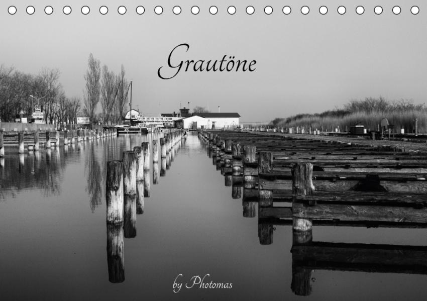 GrautöneAT-Version  (Tischkalender 2017 DIN A5 quer) - Coverbild