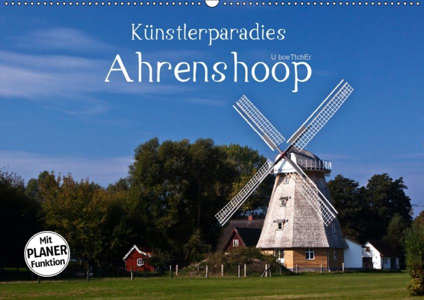 Künstlerparadies Ahrenshoop (Wandkalender 2017 DIN A2 quer) - Coverbild